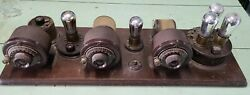 Antique Atwater Kent Ta Breadboard Radio- Detector Andtwo Stage Af Amplifier-1920