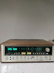 Sansui 9090db Stereo Receiver Upgraded Led Lights In Great Shape Works Amazing