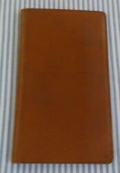 VINTAGE MARK CROSS LEATHER BILLFOLD MADE IN ENGLAND $35.00