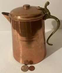 Vintage Metal Copper And Brass Pitcher, Kitchen Decor, Use It, Made In Turkey