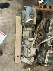 Sew-eurodrive Right Angle Gearbox And Marathon Motor Y596 10hp 1