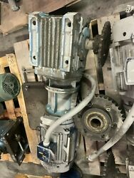 Sew-eurodrive Right Angle Gearbox And Motor Fvm215thfs8029ctk 10hp 2