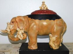 Kinder/home Collection Austin Productions Asian Elephant Sculpture Collectible