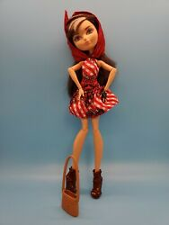 Ever After High Enchanted Picnic Cerise Hood Doll Loose
