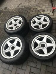 Ferrari F40 Wheels / Rims Front And Rear Wheel Set With Tires Oz Racing Magnesio