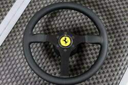 Ferrari F40 Steering Wheel New With Horn Button Dated 10-91