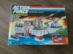 Vintage Classic Action Force Tactical Battle Platform Boxed Toy 1985 Hasbro Rare
