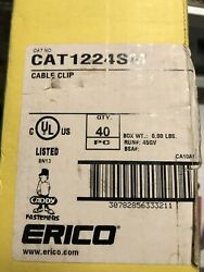 Erico Caddy Cat1224sm J-hook Wire Support Bracket. New Open Box/loose Qty 76