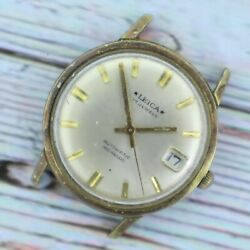 Vintage Leica 17 Jewel Menand039s Automatic Wristwatch As 1700/01 Swiss Running