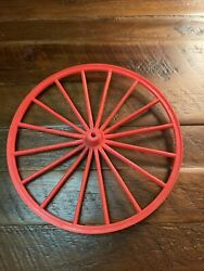 """Vintage Marx Johnny West Horse And Covered Wagon Wheel Parts. 7"""""""