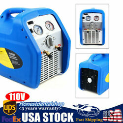 Durable Twin Cylinder Portable Refrigerant Recovery Machine 110v 400250360mm