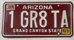 Vanity License Plate 1 Great Trans Am Collectible Authentic Personalized