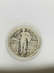 Silver Standing Liberty Quarter Roll 1916-1930 90 Mixed Year And Mint Full Dates