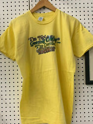 Vtg 70s/80s And039iand039m Not Getting Older..and039 Double Sided Velvet Letters T Shirt Xl B21