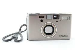 [near Mint] Contax T3 D Single Teeth 35mm Point And Shoot Film Camera From Japan