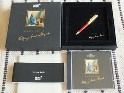 Solitaire Coral Red Mozart Ball Point Pen