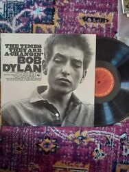 Bob Dylan The Times They Are A Changing lp