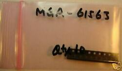 Avago Agilent 0.1-6ghz Mmic Amplifier, Mga-61563, Sot-363, Qty.10