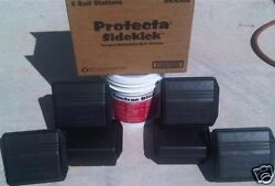 6 Protecta Sidekick Rat Mouse Rodent Control Bait Stations And 18 Lb Contrac Blox