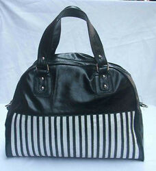 New Faux Leather Designer Tote Bag 3 colors avail