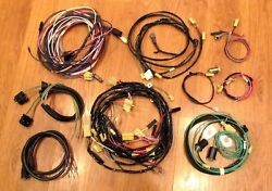1955 Chevy Wire Harness Kit 4 Door Sedan With Generator Wiring Usa Made