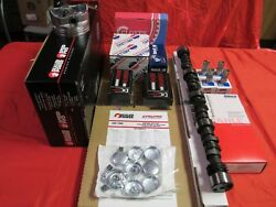 Chevy Pontiac 3.4l Master Engine Kit Pistons+cam 1993-95 Rings Gaskets Bearings