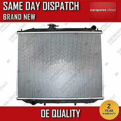 MANUAL RADIATOR FIT FOR A NISSAN TERRANO MK2 2.4 4WD,2.4 i 12V 4WD 2.7 TD 93