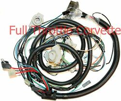 1981 Corvette Wiring Harness Forward Lamp Without Factory Tape Player Option C3