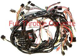 1980 Corvette Wiring Harness Dash Automatic Transmission Us Reproduction C3 New