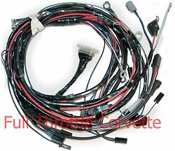 1963 Corvette Wiring Harness Engine Factory Air Conditioning Reproduction C2 New