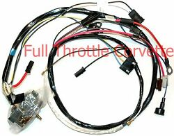Early 1977 Corvette Wiring Harness Engine Auto Transmission Us Repro C3 New