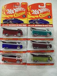 And03906 Hw Classics Series 2 Vw Drag Trucks In All 6 Colors