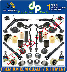 Front Rear Control Arm Ball Joint Strut Motor Mount Assembly For Bmw E36 318i Is