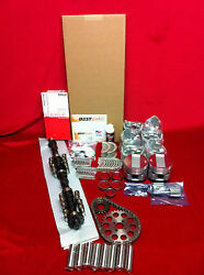 Cadillac 365 Master Engine Kit 1958 Pistons Cam Bearings Timing Gaskets+