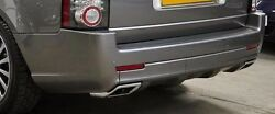 Range Rover 2010+ L322 Exterior Design Pack Rear Bumper With Chrome Exhaust Tips