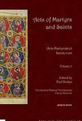 Acts Of Martyrs And Saints By Paul Bedjan English Hardcover Book Free Shipping