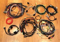 1957 Chevy Wire Harness Kit Convertible With Alternator Wiring Usa Made