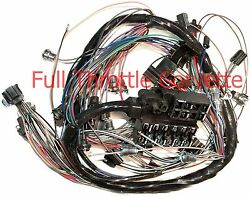 1965 Corvette Wiring Harness Dash With Back-up Lights Us Reproduction C2 New