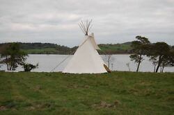Fire Certified 16and039 Cheyenne Style Tipi/teepee Door Flap Carry Bag Lacepins