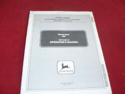 John Deere 54 Inch Quick Hitch Front Blade Operator's Manual
