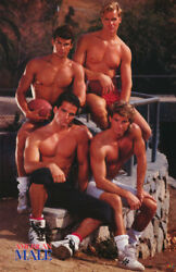 Poster - Sexy Male Model - American Male - Football- Free Shipping 3213 Rc55 L