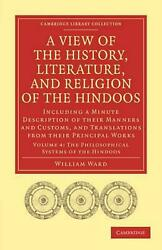 View Of The History, Literature, And Religion Of The Hindoos Including A Minute