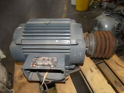 Us Electrical Uniclosed Motor 15hp 3ph 60hz 230/460v 3490rpm 38.0/19.0a Fr215t