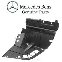 Mercedes R129 GENUINE Left Driver Side Partition Panel Between Wheel Housing NEW