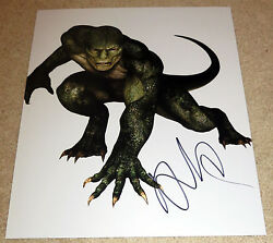 Rhys Ifans Signed 11x14 Amazing Spider Man The Lizard Dr. Curt Connors W/proof