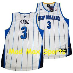 Chris Paul New Orleans Hornets White Throwback Swingman Cp3 Clippers Jersey Xxl