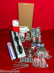 Pontiac 347 Deluxe Engine Kit 1957 Pistons Rings Gaskets Valves Cam Lifters+++