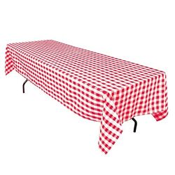 30 Rectangle 60andtimes126 Checkered Polyester Tablecloths 100 Seamless Made In Usa