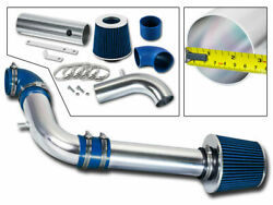 Bcp Blue 2001 2002 2003 S-10/sonoma/hombre 2.2l Cold Air Intake + Filter