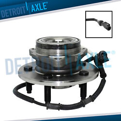 Front Wheel Bearing And Hub For 2000 2001 2002 2003 Ford F-150 F150 W/abs 4x4